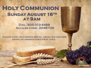 August Communion